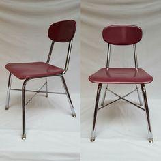 More Decoration : http://www.kadinika.com American chair  #decoration #vintage #midcentury #lessboutique #chrome #furniture #paris  #chic #sochic #american #chair #chaise #bakelite