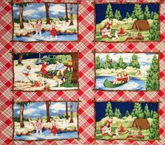 Happy Camper by American Jane Patterns, Sandy Klop for Moda by frompasttopresent on Etsy