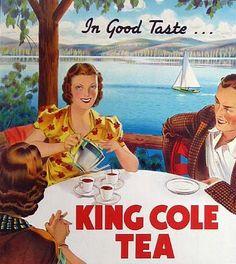 King Cole Tea, vintage ad by sweet_bettie67, via Flickr