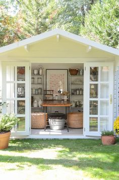 BHG-Garden Shed by Iron & Twine