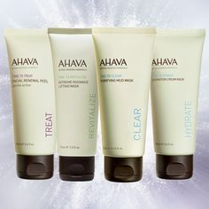 Sundays are the prefect day to relax and pamper your skin with your favorite AHAVA mask or peel. http://www.ahavaus.com/face/exfoliators-masks