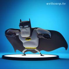 Vinyl toy render of The Dark Knight    Designer: Kibookied