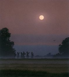 The nighttime musicians by Quint Buchholz