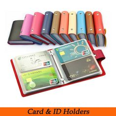 Free shipping Fashion Business Credit Card Holder Bags Leather Strap Buckle Bank Card Bag  Card Case ID Holders Card Wallets - http://www.aliexpress.com/item/Free-shipping-Fashion-Business-Credit-Card-Holder-Bags-Leather-Strap-Buckle-Bank-Card-Bag-Card-Case-ID-Holders-Card-Wallets/32225562275.html