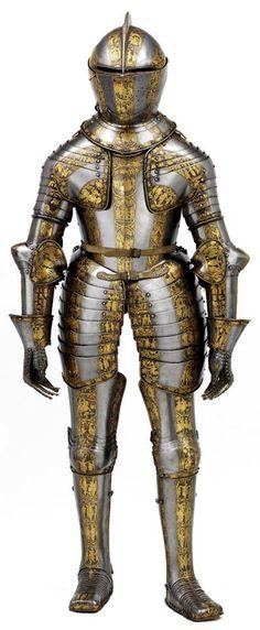 Prince Henry's armour, 1608.