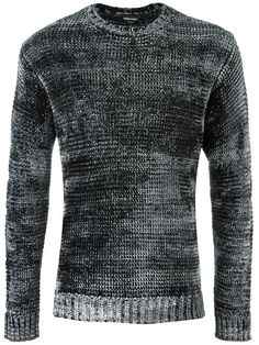 EMPORIO ARMANI crew neck jumper. #emporioarmani #cloth #jumper