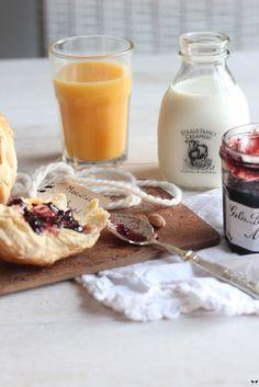 Un vrai petit déjeuner français :)