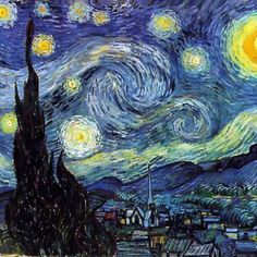 Vincent Von Gogh; favorite of all time
