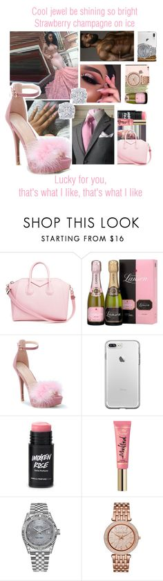 """That's What I Like x Bruno Mars"" by juicyums ❤ liked on Polyvore featuring Givenchy, SEN, Rolex, Michael Kors, Effy Jewelry and MidnightMagic"