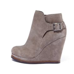 Sam Edelman Penn Wedges~Taupe is the perfect color with any outfit!