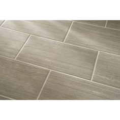 Shop Style Selections Leonia Sand Glazed Porcelain Indoor/Outdoor Floor Tile (Common: 12-in x 24-in; Actual: 11.75-in x 23.75-in) at Lowes.com