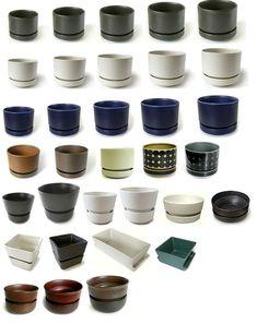 Arabia Finland planter range Potted Plants, Plant Pots, Houseplants, Nespresso, Vintage Designs, Planters, Porcelain, Kitchen Appliances, Interior Design