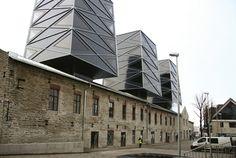 Roseni 7 inTallinn's Rotermann Quarter. Designed by Koko Architects in Estonia.
