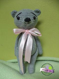 Szydełkowy miś  Crochet bear