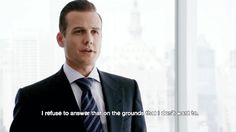 There's no denying Harvey Specter has a way with words. Inside and outside the courtroom, the immaculately dressed partner at Pearson Specter Litt, played by Gabriel Macht, is known for his ve… Serie Suits, Suits Tv Series, Suits Tv Shows, Harvey Specter Suits, Suits Harvey, Suits Usa, Suits Quotes, Gabriel Macht, Just Dance