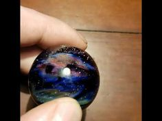 """Nebula Horizon"" Art Glass Sculpture by Sean Clayton Marble Art, Glass Marbles, Glass Paperweights, Handmade Home Decor, Hand Blown Glass, Art For Sale, Astronomy, Cosmos, Nasa"