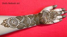 Very Simple Mehndi Designs, Mehndi Designs Front Hand, Back Hand Mehndi Designs, Mehndi Designs Book, Stylish Mehndi Designs, Latest Bridal Mehndi Designs, Mehndi Designs For Girls, Mehndi Designs For Beginners, Wedding Mehndi Designs
