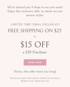 Victoria Secret Coupon $15 off $50 exp 09/23... Coupon Codes, 50th, Coupons, Victoria Secret, How To Apply, Coding, Coupon, Victoria Secrets, Programming