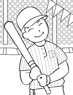 Bat Glove Hat and Baseball Coloring Page Stained Glass Patterns