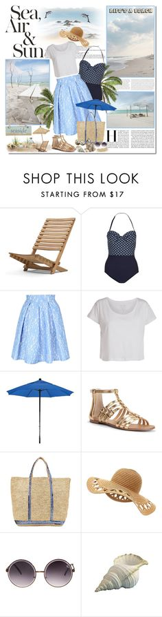 """""""Summer Paradise"""" by aane1aa ❤ liked on Polyvore featuring Life's a Beach, Skagerak, Monsoon, Jane Norman, Pieces, Sole Society, Vanessa Bruno Athé and Quay"""