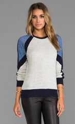 19 4t Skinny Panel Crew Pullover 169