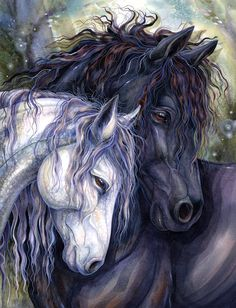 """Kindred Spirits"" par Jody Bergsma"