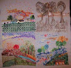 Four Seasons.  Sonia Bianco Artes