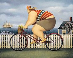 image conscious - H989D Mary's New Bike by Lowell Herrero