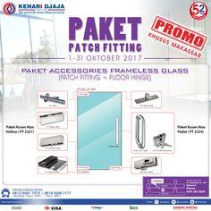 Anda yang berada di Makassar, Ayo Nikmati Promo Menarik Dari Kenari Djaja .... Paket Accesories Untuk Pintu Kaca Dengan Harga Yang Istimewa .... Kunjungi Showroom Kami Segera ...  Informasi Hub : Ibu Tika 0812 8567 7070 ( WA / Telpon / SMS ) 0819 0506 7171 ( Telpon / SMS )  Email : digitalmarketing@kenaridjaja.co.id  [ K E N A R I D J A J A ] PELOPOR PERLENGKAPAN PINTU DAN JENDELA SEJAK TAHUN 1965  SHOWROOM : JAKARTA & TANGERANG 1 Graha Mas Kebun Jeruk Blok C5-6 Telp : (021) 536 3506