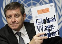 Guy Ryder, Director-General of the International Labour Organization and former former General Secretary of the International Trade Union Confederation.