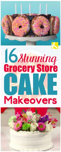 16 Grocery Store Cake Makeovers You'll Need for Your Next Party - The Krazy Coupon Lady Buy Birthday Cake, 21 Birthday, Birthday Celebration, Birthday Ideas, Birthday Parties, Anti Gravity Cake, Diy Wedding Cake, Wedding Ideas, Budget Wedding