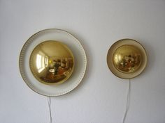 PAIR OF RARE MODERNIST WALL LIGHTS | CEILING LAMPS | SCONCES MID CENTURY | MANUFACTURED IN 1950s | SARFATTI | STILNOVO ERA HIGHLY DECORATIVE WALL