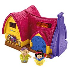 Little People Disney Snow Whites Cottage - Fisher-Price Online Toy Store