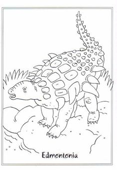 Kids-n-fun.com   23 coloring pages of Dinosaurs 2