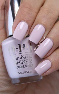 Patience Pays Off Grape Fizz Nails: OPI Infinite Shine Summer Collection 2015 Fabulous Nails, Perfect Nails, Amazing Nails, Pastel Nails, Acrylic Nails, Cute Nails, Pretty Nails, Essie, Opi Nail Colors
