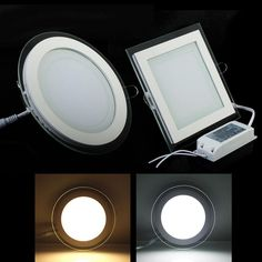 10W 15W 20W Acrylic LED Recessed Down Light Panel Light Ceiling Wall Light Cool White Warm White For Home Decor Light Spotlight 110V 220V Online with $13.47/Piece on Ok360's Store   DHgate.com