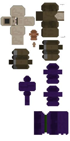 minecraf witch papercraft part 2 - Google zoeken