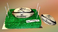 Sharks Rugby cake from Svetlana's Cakes on Flickr