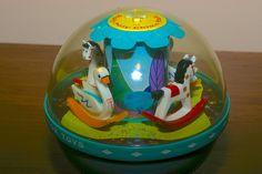 Fisher Price Roly Poly Chime Ball   Late 60s.