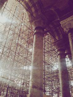 ayasofya. #hagiasophia #architecture #history #light #construction #museum #istanbul #turkey #vscocam #vsco
