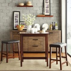 Buy Marilda 2 Seater Dining with Stools (Mahogany Finish) Online in India - Wooden Street 2 Seater Dining Table, Dining Set, Fine Dining, Bedroom Furniture Online, Dining Room Furniture, Wooden Street, Wooden Furniture, Wood Colors, Entryway Tables