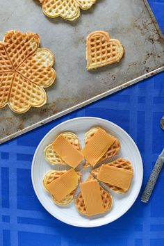Great-Grandma Josephine's Norwegian Waffles (Vaffler) | Recipe at Outside Oslo