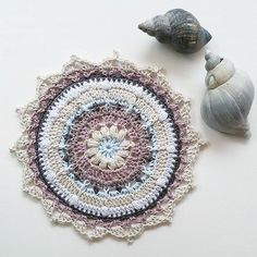 Repost I'm loving this beautiful Puffs and Picots mandala shared by @freulebel! It makes me think I should work in neutrals more often You can find the free pattern on my blog. #puffsandpicotsmandala