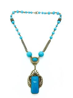 A personal favorite from my Etsy shop https://www.etsy.com/listing/251012666/antique-vintage-art-deco-czech-turquoise