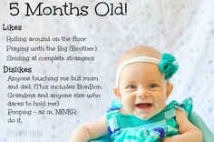 5 Months Old :: The Peanut - Its Fitting