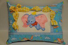 RARE 12 x 16 Disney Dumbo Elephant by CarlsonQuiltFabrics on Etsy