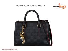 This leather bag by Purification Garcia stands out for its block design and double handle. It's just what modern women needs. Buy Purification Garcia at the Antara Shopping Mall in Mexico City and get a tax refund for foreign tourists! #moneyback