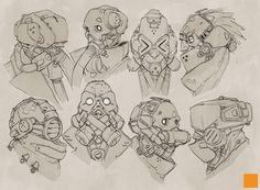 Masks by fightpunch.deviantart.com on @deviantART