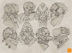 Masks by fightpunch.deviantart.com on @deviantART