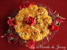 Arabischer Rosenkuchen. Und wieder eine kleine leckere Kuchenleckerei, die auch mal wieder sehr schön…